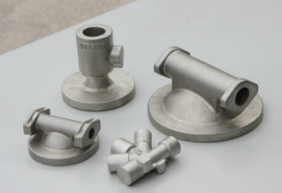 Polished cast aluminum parts