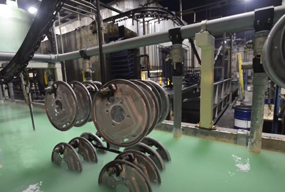E-Coating Pretreatment of Aluminum Parts
