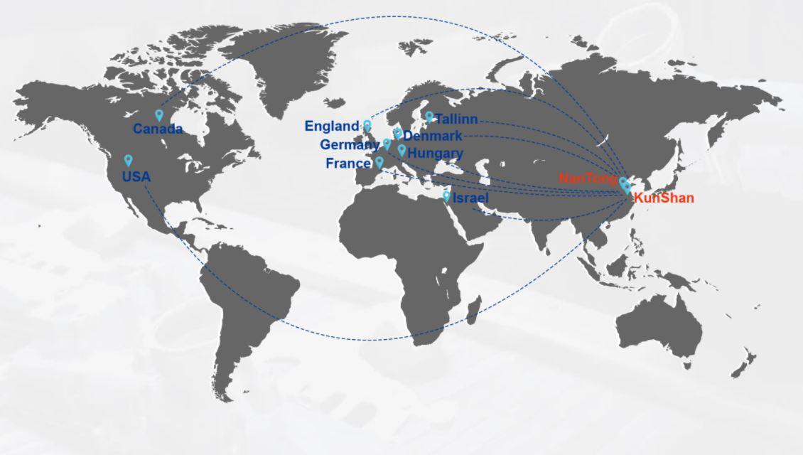 Sunrise Metal Worldwide Customer-one of die cast companies