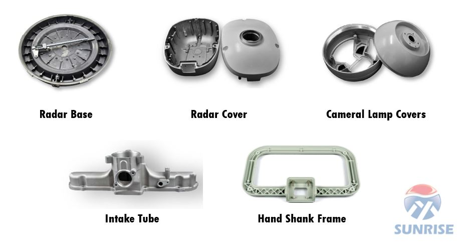 Sample of Aluminum Enclosure Manufactured by Sunrise Metal